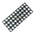 1 Set 4Pcs Black 18650 Battery Spacer Radiating Shell EV Pack Plastic Heat Holder Bracket Electronics Stocks Dropship