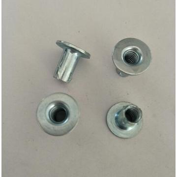 Stamped stainless steel rivet Nuts
