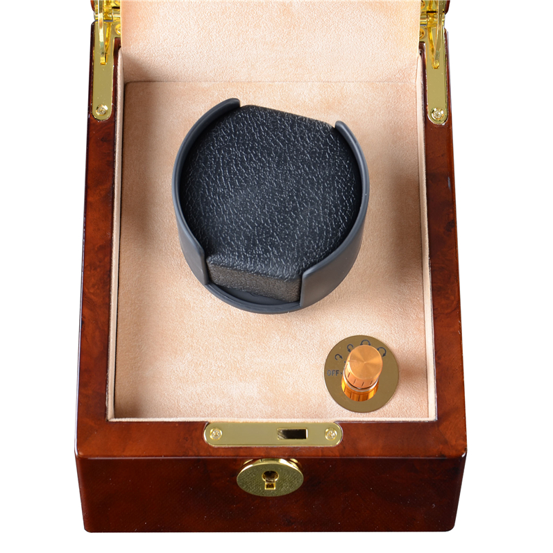 leather watch holder box single