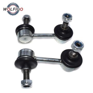 WOLFIGO Front Left Right Sway Bar Stabiliser Link Suspension Stabilizer Rod Strut for Honda Civic 51321-SNA-A02 51320-SNA-A02