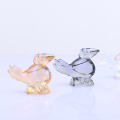 Colorful Brid Glass Lovlely  Figurine Wholesale