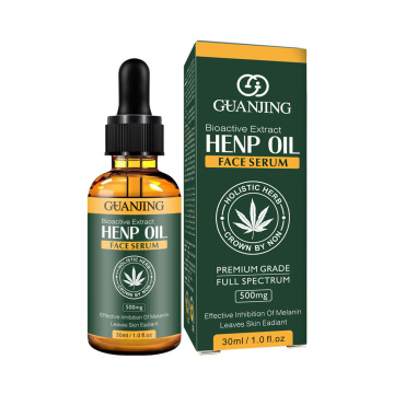 30ml 100% Organic Hemp CBD Oil Bio-active Hemp Seeds Oil Extract Drop for Pain Relief Reduce Anxiety Better Sleep Essence