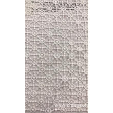 Small White Particles Chemical Cotton Embroider Fabric