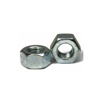 Zinc Plated Finish Steel Heavy Hex Nut