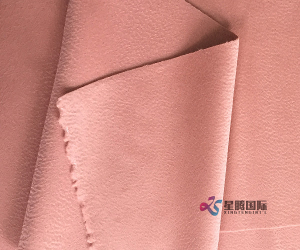 Garment Nice Pink Color Wool Fabric