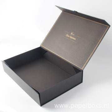 Recycled Packaging Collapsible Paper Gift Boxes For Clothing