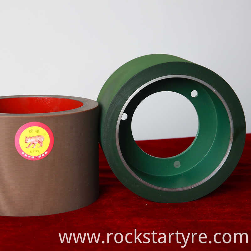 6 High Quality Nbr Rubber Roller For Rice Husking Machine