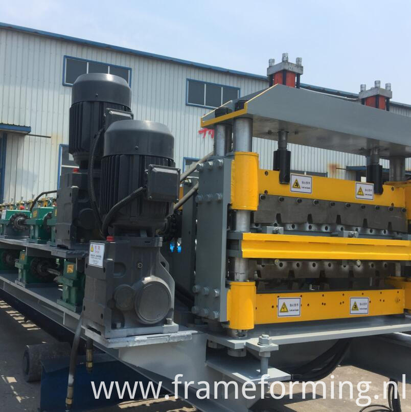 double layer roofing tile making machine 1