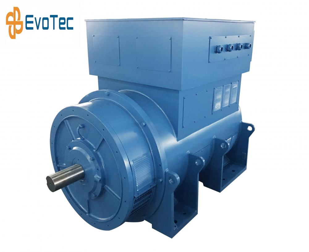 High Voltage 500kW 6300V Generators
