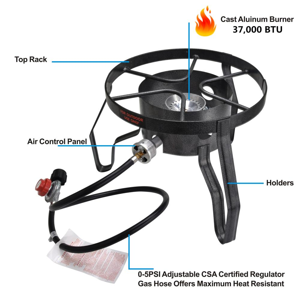 Camping Stove With Stand
