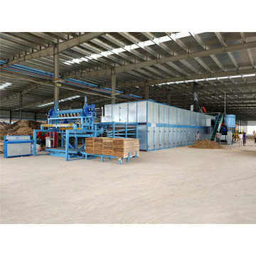 3deck layer veneer drying machine