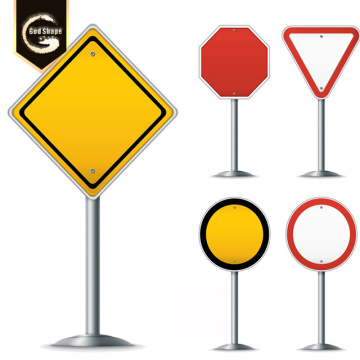 Custom Road Safety Sign Stands Display