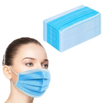 disposable non-woven 3ply face mask