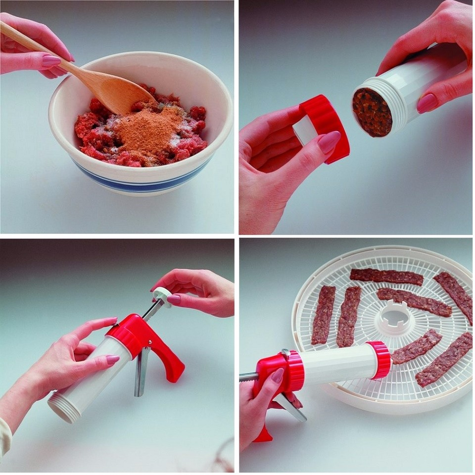 Popular Economy Type DIY use plastic jerky gun Jerky and Sausage Maker Kit for A a better Life