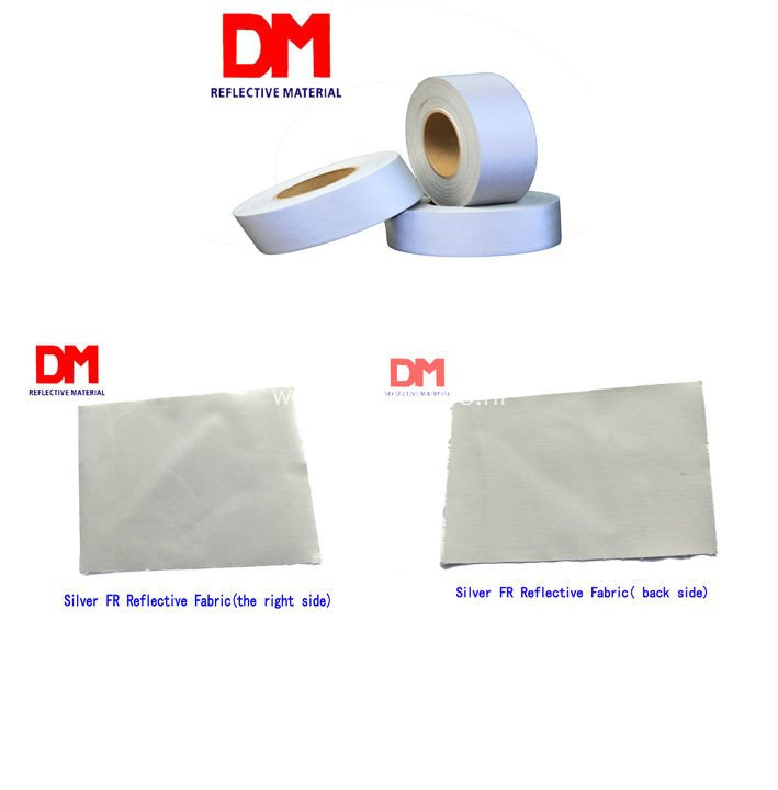 Flame Retardant Aramid  Reflective Fabric