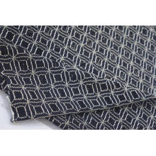 Nylon Polyester Spandex Geometrical Lace Fabric