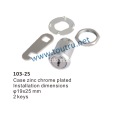 103-25mm American cam lock