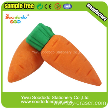 Carrots fancy Eraser for kids