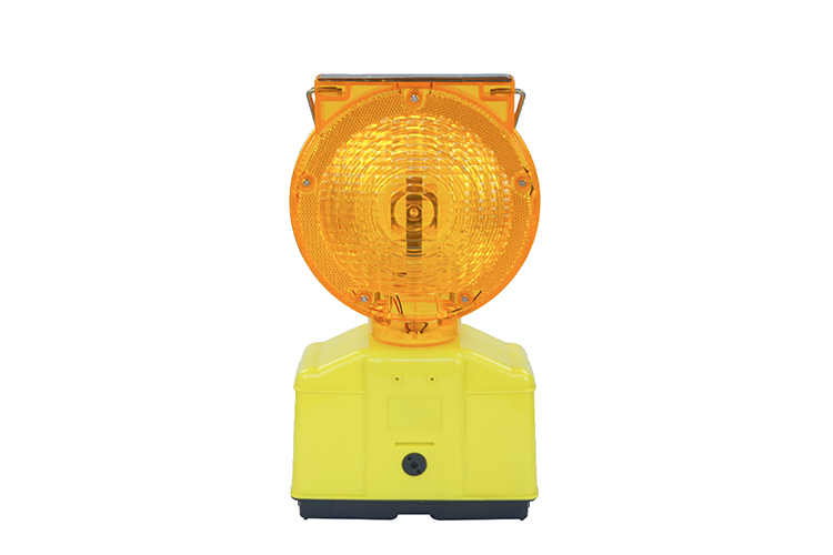 Solar Warning Barricade Light