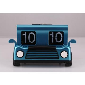 Small Toy Car Mode Flip Clock