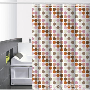 Motel 6 Waterproof Bathroom printed Shower Curtain
