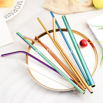 Creative Stainless Steel Straw Package