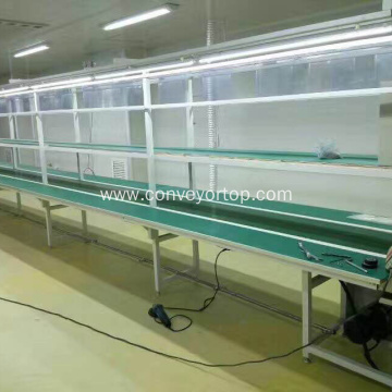 Magnetic Rubber Conveyor Belt Solar Panel Production Line