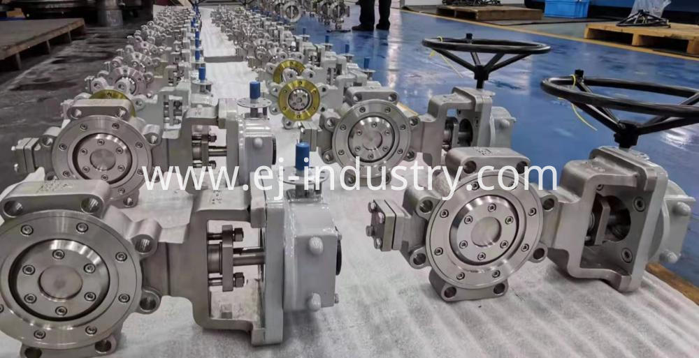Metal Seat Butterfly Valve