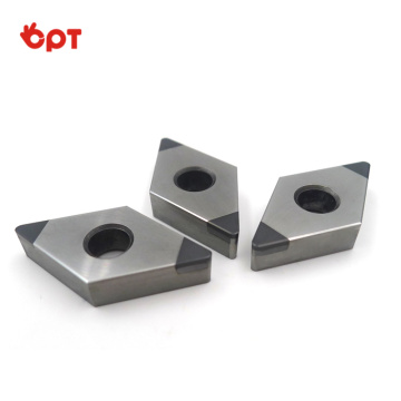 CBN tip PCBN tipped indexable turning inserts