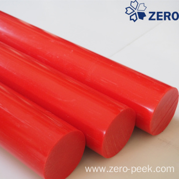 Red color delrin rod