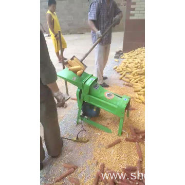 Small Maize Corn Wheat Sheller Thrasher Machine Seed Removing Machine
