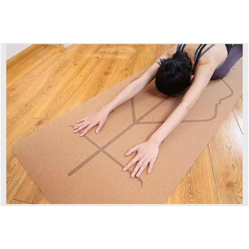 5mm Thick Yoga Mat Non Slip Yoga Mat Eco Friendly Yoga Mat with Alignment