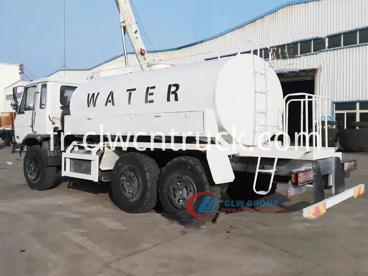 Dongfeng 6x6 Water Tank Truck 2