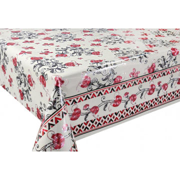 6 Gauge 3D Laser Coating Tablecloth