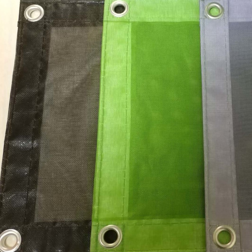 PVC coated safety netting