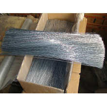 Low carbon steel electric galvanized Straight Cutting Wire