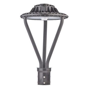 Bronze Color 30W Led Post Top Lantern Fixtures