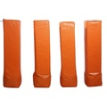 GIBBON Weighted Football Field Markers Orange
