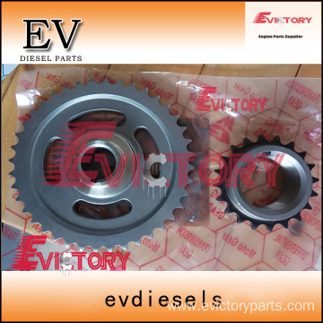 VOLVO D12C idle timing gear crankshaft camshaft gear