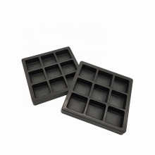 Customized Black Chocolate Plastic Blister Tray Insert