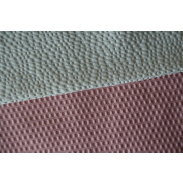 100% Polyester Bed Sheet Bubble Embossed Fabric