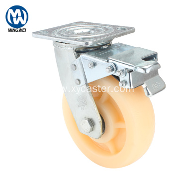 PP Heavy Duty Caster Wheels with Brakes