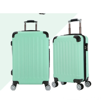 Wholesale hard plastic trolley case suitcase set