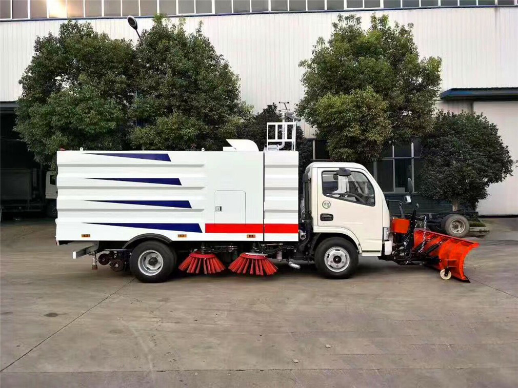 snow sweeper truck 5