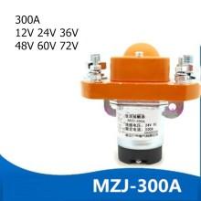 ZJ300A 1NO Normal-Open 12V 24V 36V 48V 60V 72V 300A DC Contactor for Motor Forklift Electromobile Grab Wehicle Car Winch