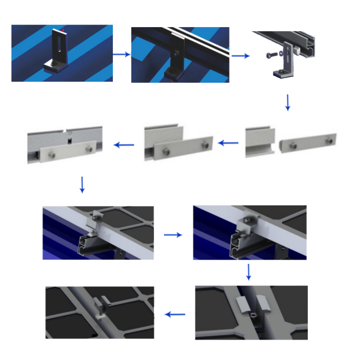 Aluminum Components For Metal Roof