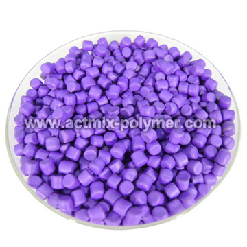 Rubber Accelerator Stained in Purple DPG