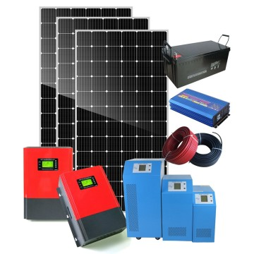 5000W Hybrid Solar System High efficiency Canadian solar