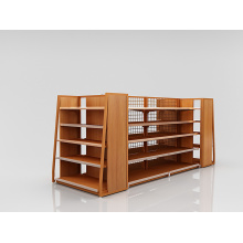 Retail Steel And Wooden Display Rack