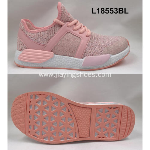 Bulk Wholesale Fashion Woman Running Sport Shoe